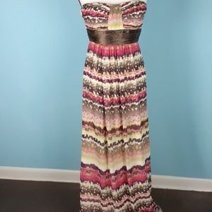 Max and Cleo 2 strapless maxi dress strapless